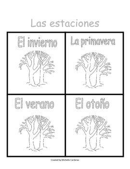 Las estaciones/The Seasons