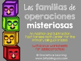 Spanish Fact Families - Las familias de operaciones