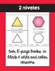 Las figuras en 2D texto / 2D Shapes Emergent Reader in Spanish