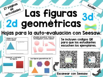Las figuras geometricas 2d 3d para Seesaw