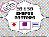 Carteles de las formas / Spanish Shapes Posters and Flashcards for Kindergarten
