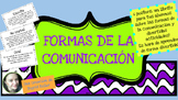 Las formas de la comunicacion NO PREP!