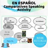 Los comparativos | Speaking Activity