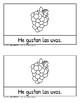 Las frutas: Me gusta, me gustan, Tengo, Tienes, 4 libros,  3 juegos, y más!
