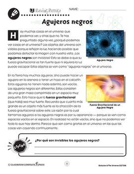 Las galaxias y el universo: Agujeros negros