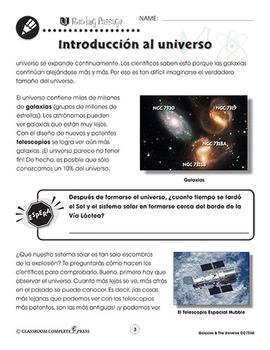 Las galaxias y el universo: Introducción al universo