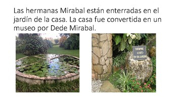 Las hermanas Mirabal ppt (In the time of the butterflies)
