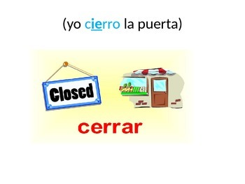 Las irregularidades de los verbos