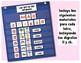 Las letras del abecedario - Actividades para la gráfica de bolsillos