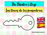 Las llaves de los pensadores: Español and English
