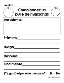 Las manzanas (Apple Unit in Spanish)