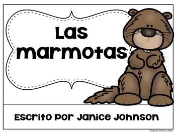 Las marmotas /el ciclo de vida ~ Groundhog Reader & Lifecycle Reader {Bilingual}