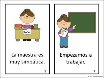 Las matemáticas ~ Math Class ~ Back to School Readers {Bilingual version}