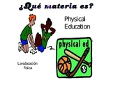 Las materias/ School subjects in Spanish