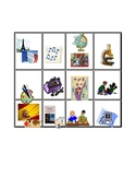 Las materias de la escuela Spanish School Subject Game Set