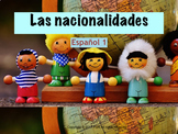 Nationalities in Spanish / Las nacionalidades en español