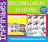 Las oraciones de verano | Pack de actividades | Spanish Resources