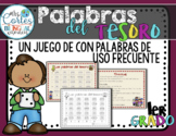 Las Palabras del Tesoro- Spanish High Frequency Words Game