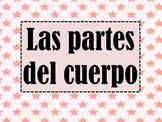 Las partes del cuerpo/ Body Parts PowerPoint Spanish