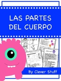 Spanish body parts. Las partes del cuerpo