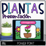 Las plantas Plants in Spanish PowerPoint