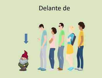 Las preposiciones Spanish Preposition Power Point ppt