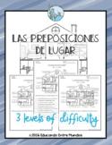 Las preposiciones de lugar Spanish prepositions of place