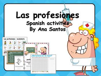 Profesiones Spanish Worksheets & Teaching Resources | TpT