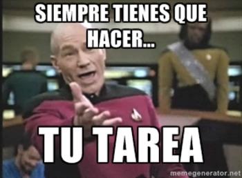 Las reglas de clase: Spanish Memes for class rules and procedures!