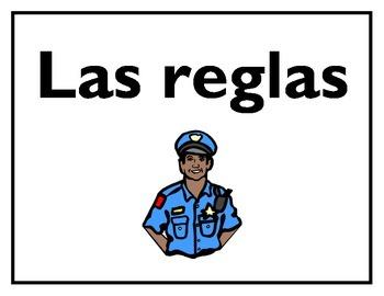 Las reglas de la clase de español/Spanish Class Rules