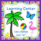 "Las silabas con ""P""(pa,pe,pi) Spanish reading center Perfe"