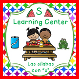 "Las silabas con ""S""(sa,se,si) Spanish reading center - Dua"
