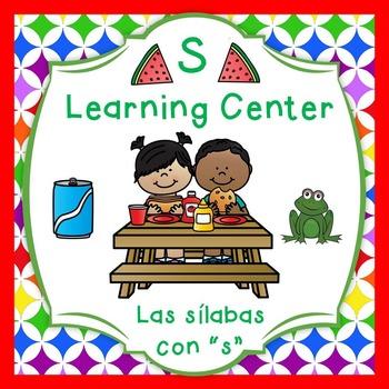 """Las silabas con """"S""""(sa,se,si) Spanish reading center"""