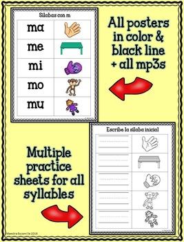 Las sílabas musicales - Bundle completo con TODO y vocabulario