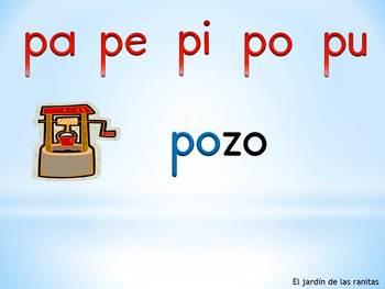 Las sílabas pa pe pi po pu