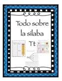 Las silabas ta te ti to tu - letra Tt- consonante Tt