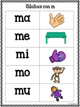 Las silabas musicales - Bundle Set - Musical Syllables Program in Spanish