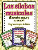 Las silabas musicales - Bundle Set - Musical Syllables Program in Spanish