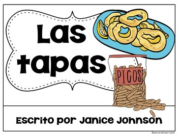 Las tapas ~ Spanish Tapas Reader & Comprehension Activities {en español}