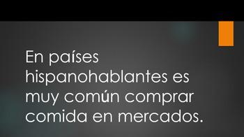 Las tiendas  / Stores in Spanish