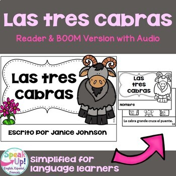 Las tres cabras ~ Simplified Spanish Three Billy Goats Gruff Readers