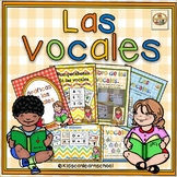 Las vocales-Centros de trabajo para  el aprendizaje de  la