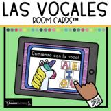 Las vocales Boom Cards™ in Spanish