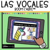 Las vocales Boom Cards in Spanish