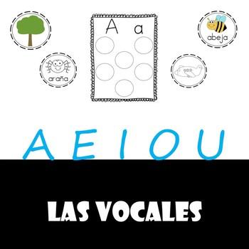 Las vocales (Vowel matching-Spanish)