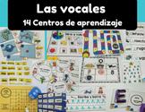 Las vocales centros (Spanish Vowels Centers)