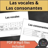 Las vocales y las consonantes