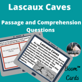 Lascaux Caves Boom™ Cards passage and comprehension questi