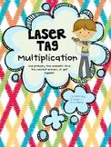 Laser Tag Multiplication (Full Version)