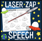 Laser Zap Speech Bundle! Articulation and Language (Laser pointer companion)